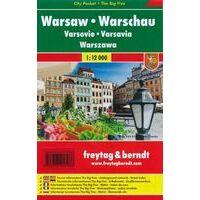Freytag En Berndt Stadsplattegrond Warschau