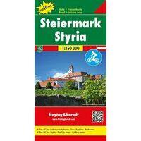 Freytag En Berndt Wegenkaart Steiermark
