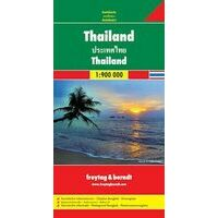 Freytag En Berndt Wegenkaart Thailand