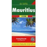 Freytag En Berndt Toeristische Wegenkaart Mauritius