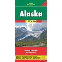 Freytag En Berndt Wegenkaart Alaska