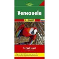 Freytag En Berndt Wegenkaart Venezuela