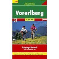 Freytag En Berndt Fietskaart Vorarlberg