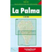Freytag En Berndt Wandelkaart WKE2 La Palma