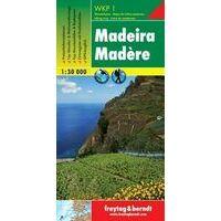 Freytag En Berndt Wandelkaart WKP1 Madeira