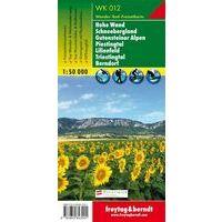 Freytag & Berndt Wandelkaart WK012 Hohe Wand - Schneebergland
