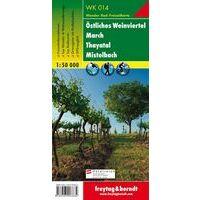 Freytag & Berndt Wandelkaart WK014 Ostliches Weinviertel