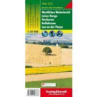 Freytag & Berndt Wandelkaart WK015 Westliches Weinviertel