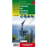 Freytag & Berndt Wandelkaart WK022 Semmering - Rax