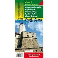 Freytag & Berndt Wandelkaart WK023 Thermenregion Baden