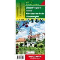 Freytag & Berndt Wandelkaart WK131 Grazer Bergland - Schökl