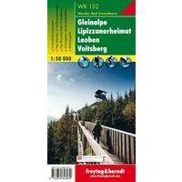Freytag & Berndt Wandelkaart WK132 Gleinalpe