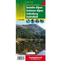 Freytag & Berndt Wandelkaart WK212 Seetaler Alpen - Seckauer Alpen