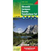 Freytag En Berndt Wandelkaart WK352 Ehrwald - Lermoos