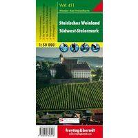 Freytag & Berndt Wandelkaart WK411 Steirisches Weinland