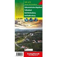 Freytag & Berndt Wandelkaart WK412 Südoststeirisches Hügelland