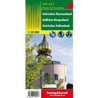 Freytag & Berndt Wandelkaart WK423 Steirische Thermenland