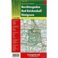 Freytag En Berndt Wandelkaart WKD5 Berchtesgaden