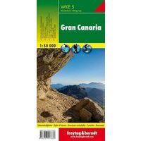 Freytag & Berndt Wandelkaart WKE5 Gran Canaria 1:50.000