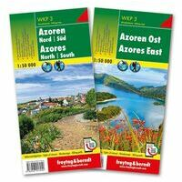Freytag & Berndt Wandelkaart WKP3 Azoren
