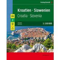 Freytag & Berndt Wegenatlas Kroatie & Slovenie