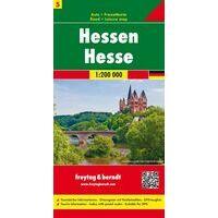 Freytag & Berndt Wegenkaart Hessen 1:200.000