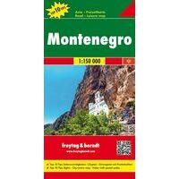 Freytag & Berndt Wegenkaart Montenegro 1:150.000