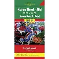 Freytag En Berndt Wegenkaart Noord-Korea