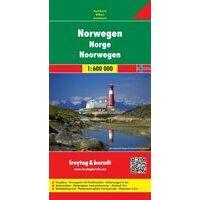 Freytag En Berndt Wegenkaart Noorwegen