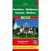 Freytag & Berndt Wegenkaart Roemenie - Moldavie