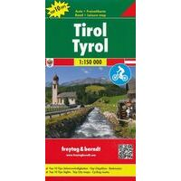 Freytag En Berndt Wegenkaart Tirol