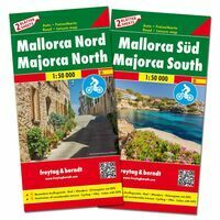 Freytag En Berndt Wegenkaarten Set Mallorca Noord & Zuid