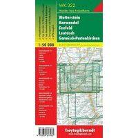 Freytag En Berndt Wandelkaart WK322 Wetterstein - Karwendel