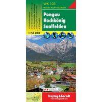 Freytag En Berndt Wandelkaart WK103 Pongau - Hochkönig