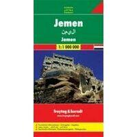 Freytag En Berndt Wegenkaart Jemen