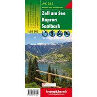 Freytag En Berndt Wandelkaart WK382 Zell Am See - Kaprun