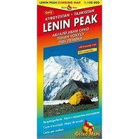 Gecko Maps Climbing Map Lenin Peak / Pik Lenin