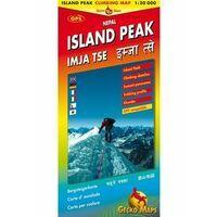 Gecko Maps Klimkaart Island Peak 1:20.000