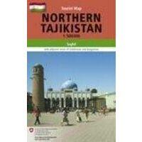 Gecko Maps Wegenkaart Northern Tajikistan 1:500.00