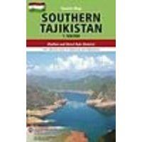 Gecko Maps Wegenkaart Southern Tajikistan 1:500.000