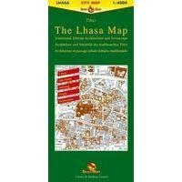 Gecko Maps Stadsplattegrond Lhasa 1:4.000