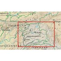 Gecko Maps Wegenkaart The Pamirs 1:500.000