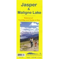 Gem Trek Wandelkaart Jasper & Maligne Lake