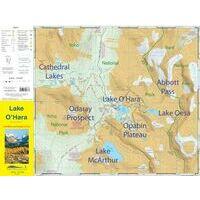 Gem Trek Wandelkaart Lake O'Hara