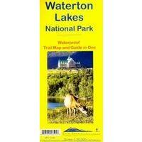 Gem Trek Wandelkaart Waterton Lakes National Park