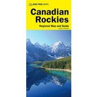 Gem Trek Wegenkaart Canadian Rockies -Banff - Jasper - Yoho