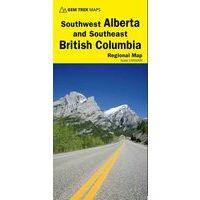 Gem Trek Wegenkaart Southwest Alberta