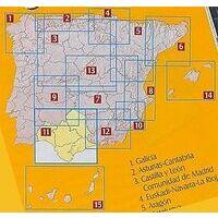Geo Estel Maps Wegenkaart 11 Andalusië West