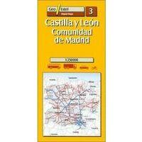 Geo Estel Maps Wegenkaart 3 Castilla Y Leon - Madrid