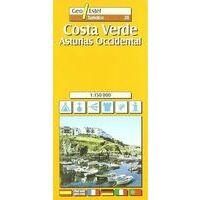 Geo Estel Maps Wegenkaart Costa Verde - Asturië West